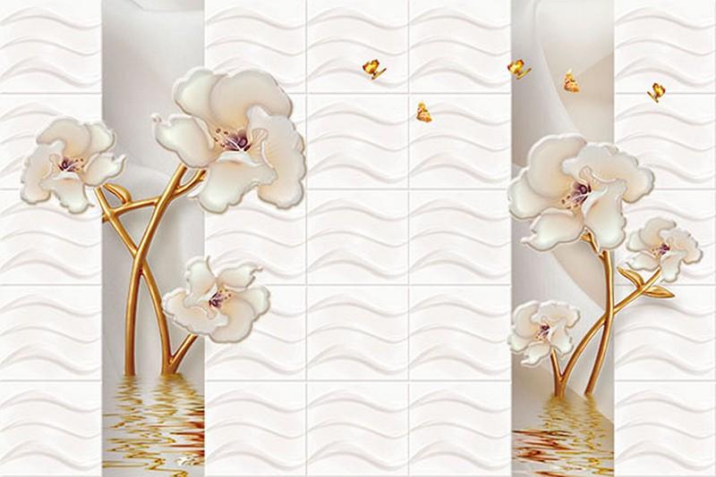 Mẫu tranh dán tương 3D đẹp - Mã: 3D-025-copy