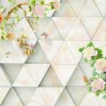 Cách phân biệt tranh dán tường 3D và giấy dán tường truyền thống