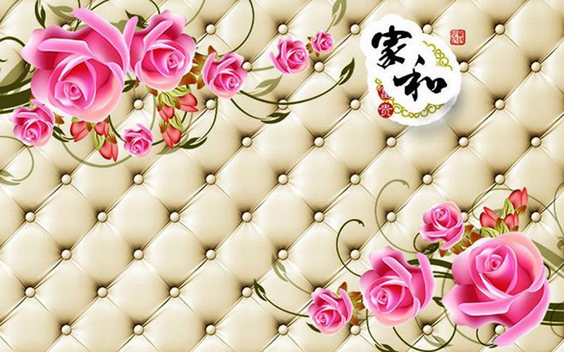 Tranh dán tường 3D đẹp - Mã: 3D-054-copy