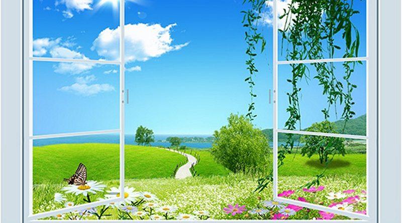 """""""Mở rộng"""" không gian với 17 mẫu tranh 3D cửa sổ đẹp nhất"""
