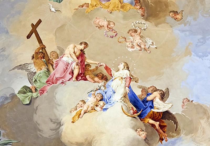Mẫu tranh dán tường 3d khổ lớn phòng khách cổ điển đẹp - Mã: FQ260-copy