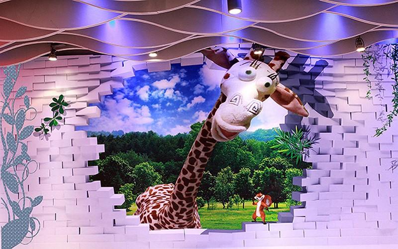 Tranh dán tường hình con vật đẹp dễ thương - Mã: ER-022-copy-1