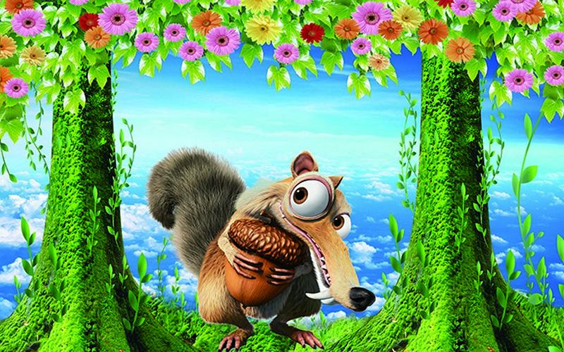 Tranh dán tường hình con vật đẹp dễ thương - Mã: KT-002-copy
