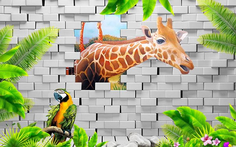 Mẫu tranh dán tường cho bé đẹp - Mã: ER-018-copy
