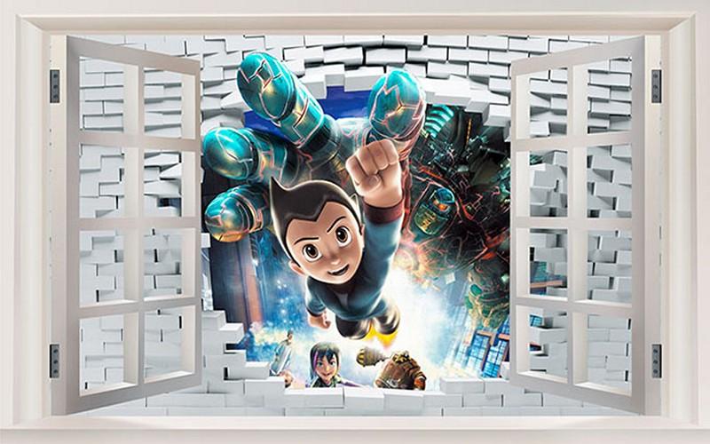 Mẫu tranh dán tường cho bé trai đẹp - Mã: ER-015-copy