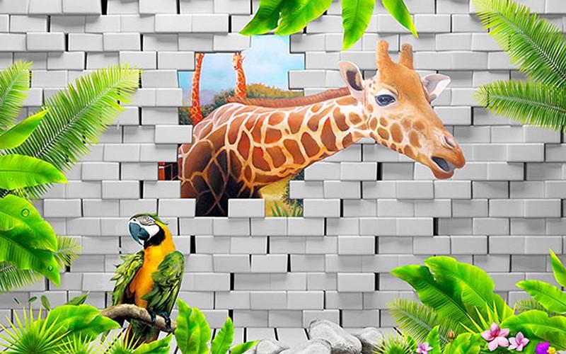 Mẫu tranh dán tường cho bé trai đẹp - Mã: ER-018-copy