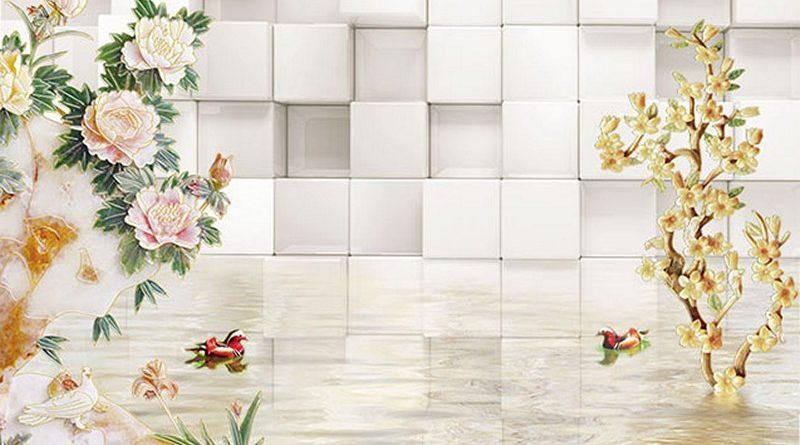 Sử dụng tranh dán tường 3D khổ lớn mang lại những lợi ích gì?