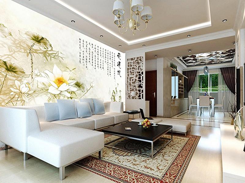 Tranh dán tường phòng khách đẹp - Mã: ZH00114-copy