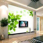 15 ý tưởng thiết kế phòng khách đẹp độc đáo với tranh dán tường 3D