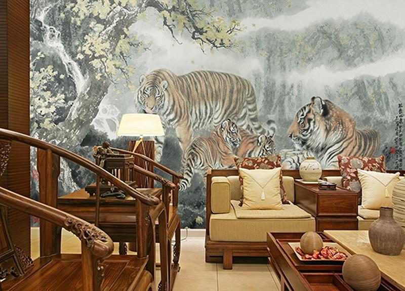 Tranh dán tường phòng khách đẹp - Mã: ZH00108-copy