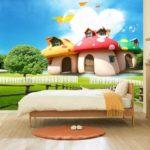 Tìm đại lý phân phối tranh dán tường 3D khổ lớn cho phòng ngủ