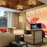Top 5 mẫu tranh dán tường 3D khổ lớn phòng khách 2017