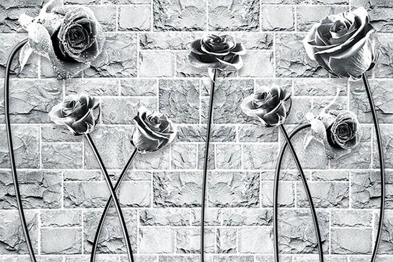 Tranh dán tường 3D đẹp đơn giản - Mã: FQ001