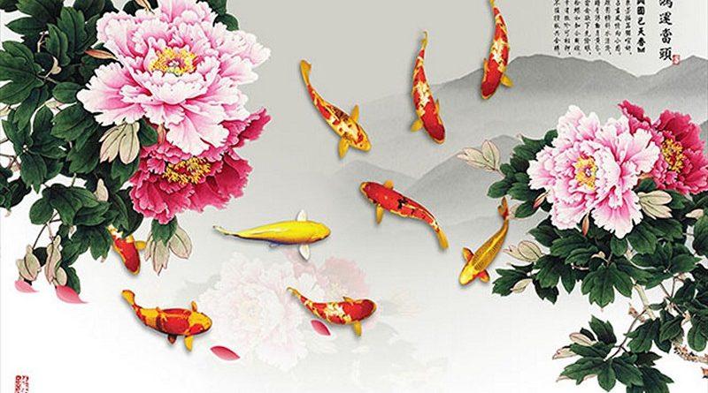 5 mẫu tranh phong thủy 3D được chọn mua nhiều nhất để hút tài lộc