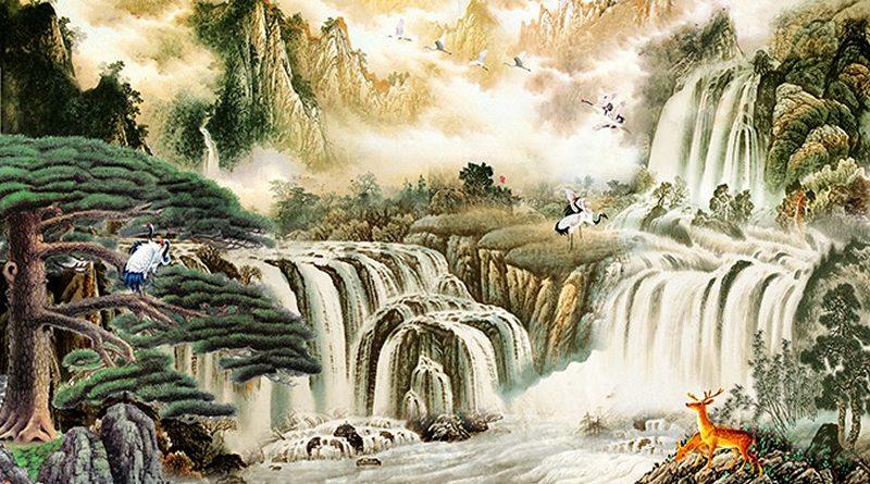 Tranh sơn thủy hữu tình hợp với tuổi nào theo phong thủy?