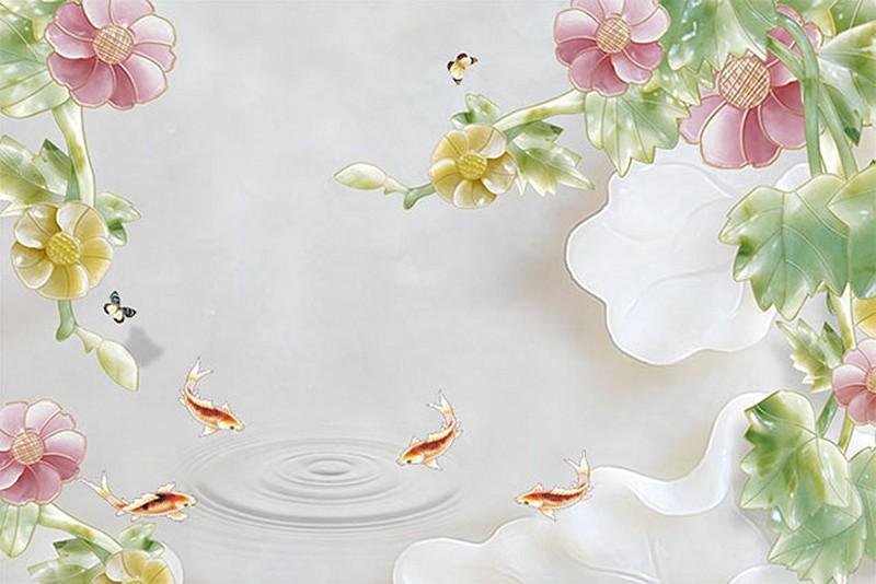 In tranh dán tường 3D ở Hà Nội giá rẻ - Mã tranh: BH-033-copy