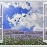 Nhận in tranh dán tường cửa sổ 3D Hà Nội giá rẻ, đẹp nhất