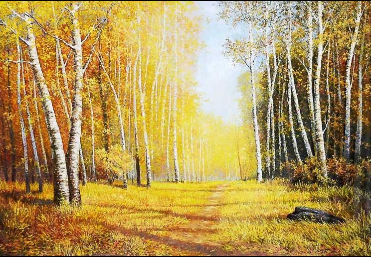 Tranh phong cảnh 3d đẹp lung linh: mẫu in tranh TH_05392