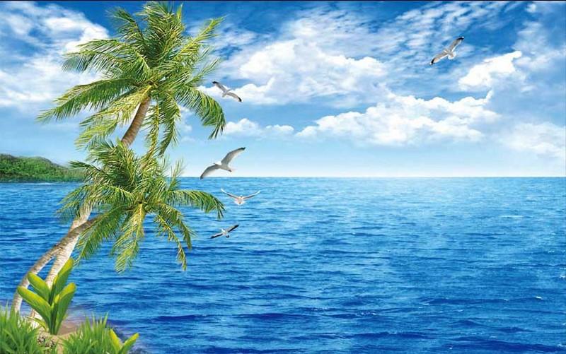 Tranh cảng biển đẹp, yên bình - 04