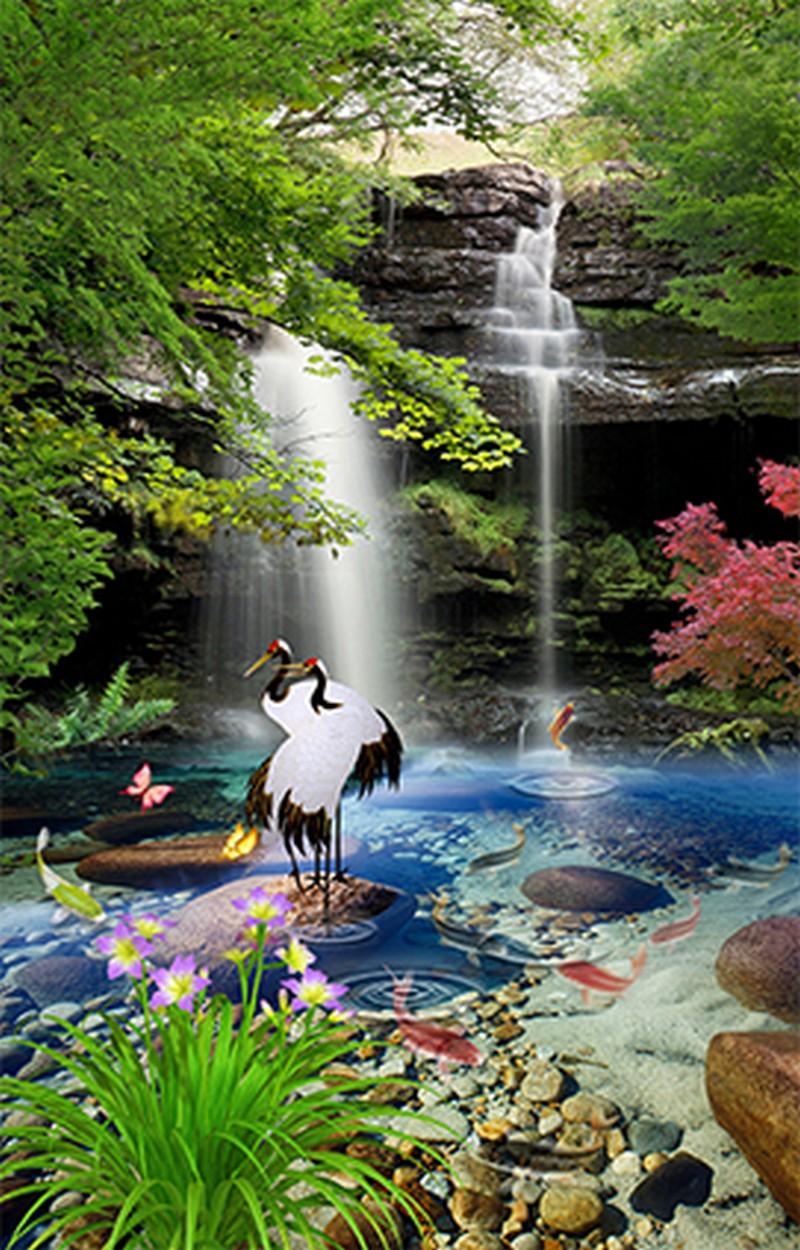Tranh phong cảnh thiên nhiên sơn thủy hữu tình - 05
