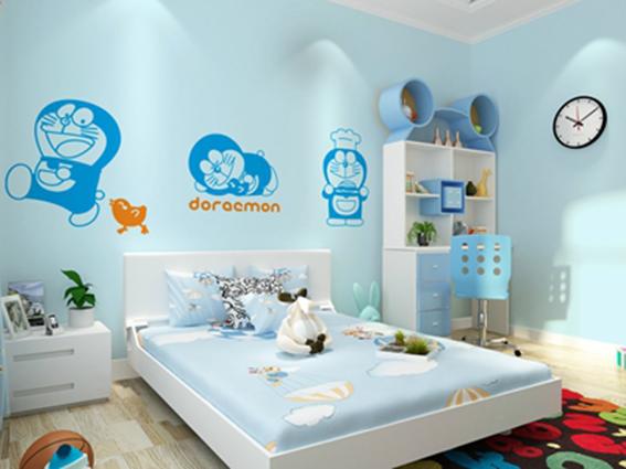 Tranh dán tường 3d cho bé cực đáng yêu: mẫu in tranh EYF-000