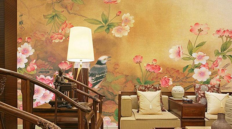 Bán tranh decal dán tường 3d rẻ đẹp, in tranh 3d khổ lớn giá gốc