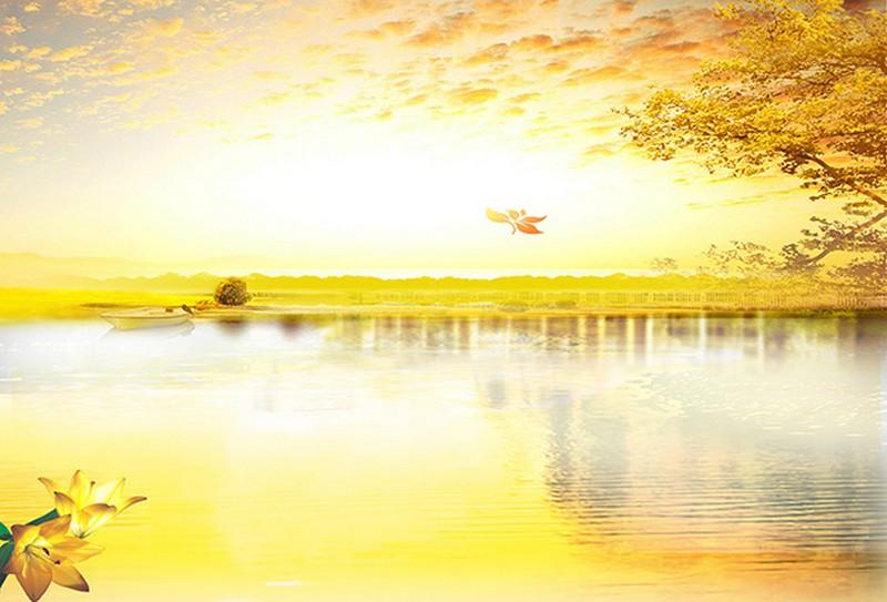 Tranh phong cảnh 3d đẹp dung dị qua nét vẽ sơn dầu