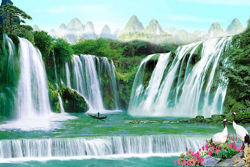 Tranh dán tường 3d đẹp nhất 2019 - 06