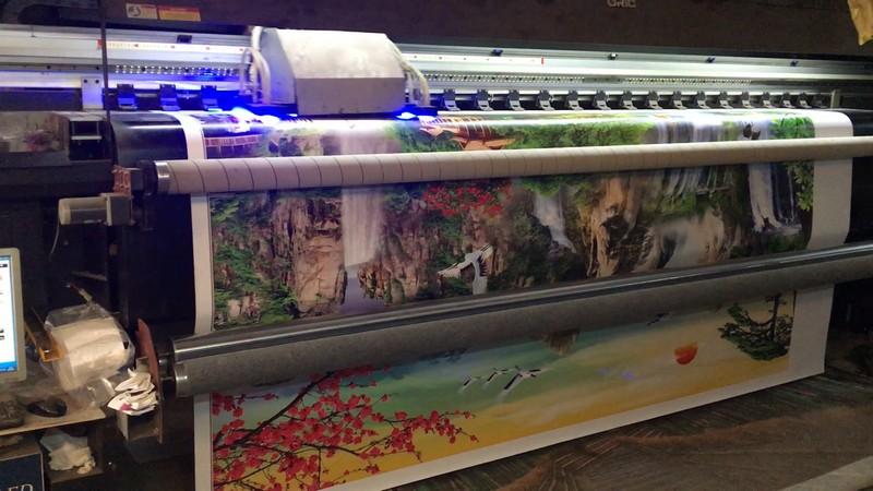 Xưởng in tranh 3d tphcm Thiên Hà: bán sỉ tranh dán tường giá rẻ nhất