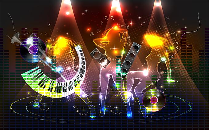 In tranh dán tường 3D cho phòng hát karaoke tại Thiên Hà chất lượng, giá rẻ