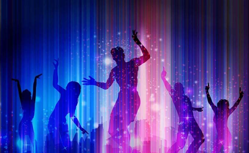 Tranh dán tường 3D cho phòng hát tuyệt đẹp