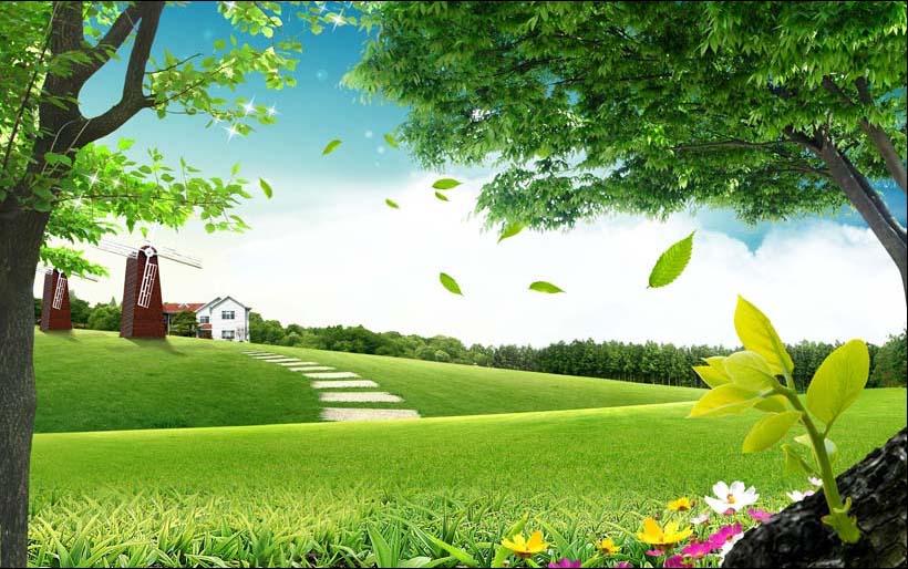 Mẫu in tranh 3D phong cảnh, mã in: TH_09711Mẫu in tranh 3D phong cảnh, mã in: TH_09711