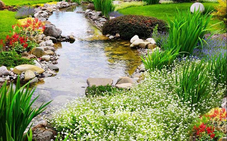Tranh 3d phong cảnh tuyệt đẹp cho phòng khách: mẫu in TH_25494
