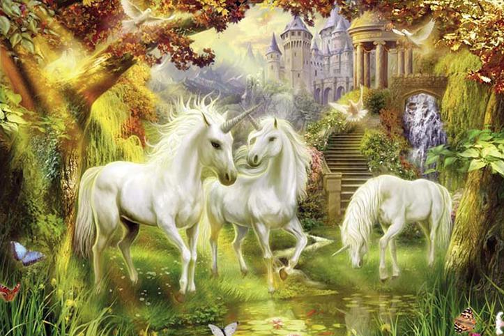 Tranh ngựa 3D tuyệt đẹp: mẫu in TH_25849