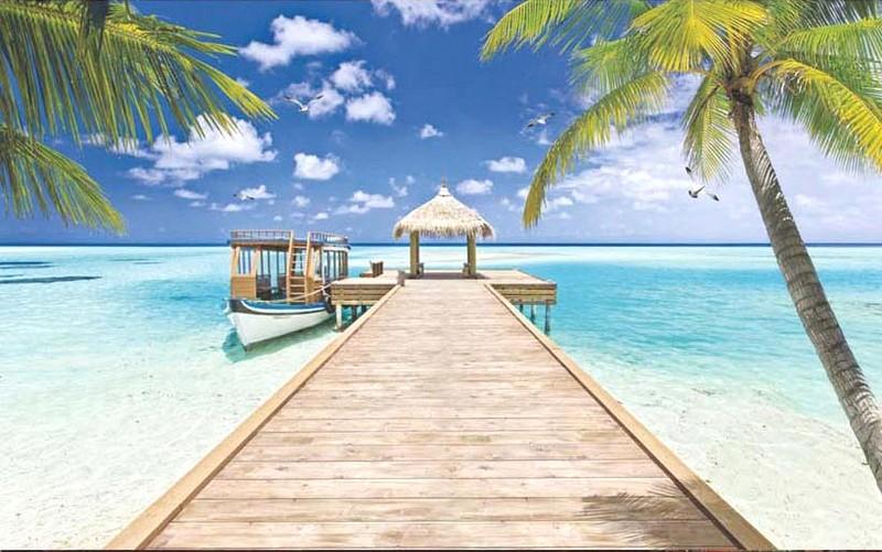 Tranh cảnh biển cực đẹp cho phòng ngủ lứa đôi