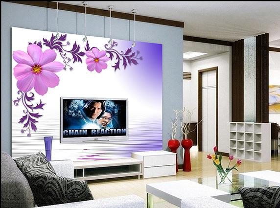 In tranh dán tường theo yêu cầu vẻ đẹp tranh hoàn hảo hơn, hấp dẫn hơn