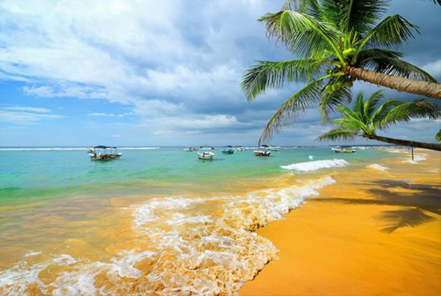 """TH-58P-005295 - Tranh dán tường 3d phong cảnh biển mênh mông, sóng nước thi nhau xô vào bờ khiến tâm hồn người ngắm như được """"gột rửa"""" bằng nước muối...biển"""