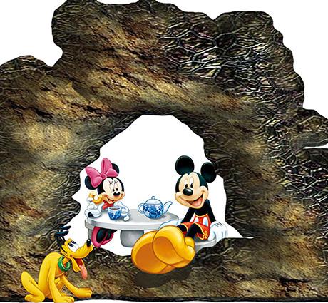 TH-58P-01213-copy - Tranh dán tường 3d hoạt hình dán phòng bé yêu - món quà Trung Thu ý nghĩa nhất