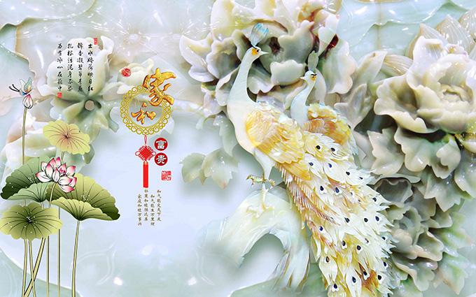 TH-58P-03169-copy - Những mẫu tranh 3d, tranh phong cảnh, tranh phong thủy hợp với người mệnh Kim