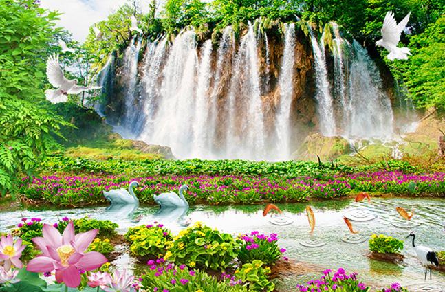 TH-58P-05056-copy - Tranh 3d phong cảnh thiên nhiên đẹp nhất 2019