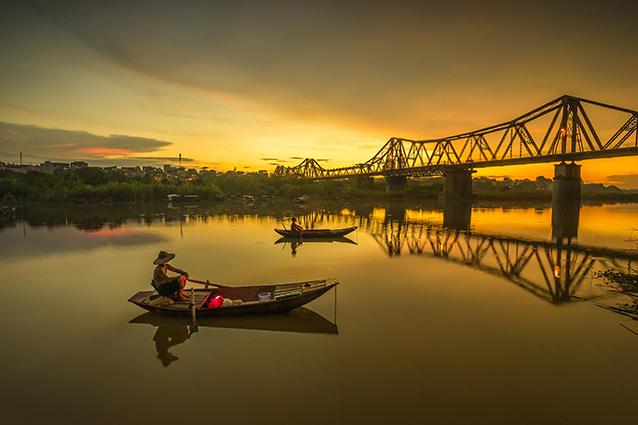 THS_1373- Tranh 3d phong cảnh làng quê đẹp nhất 2019