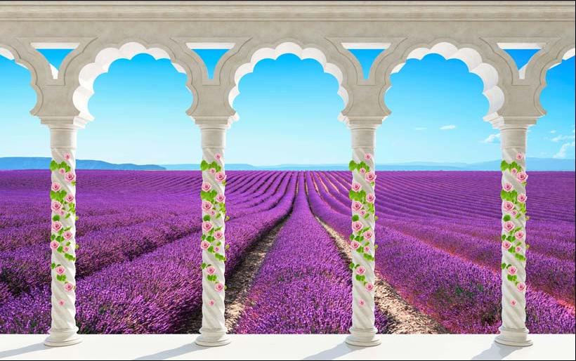 TH_06322 - Tóm ngay 20 mẫu tranh dán tường 3d cửa sổ đẹp nhất để mở rộng không gian