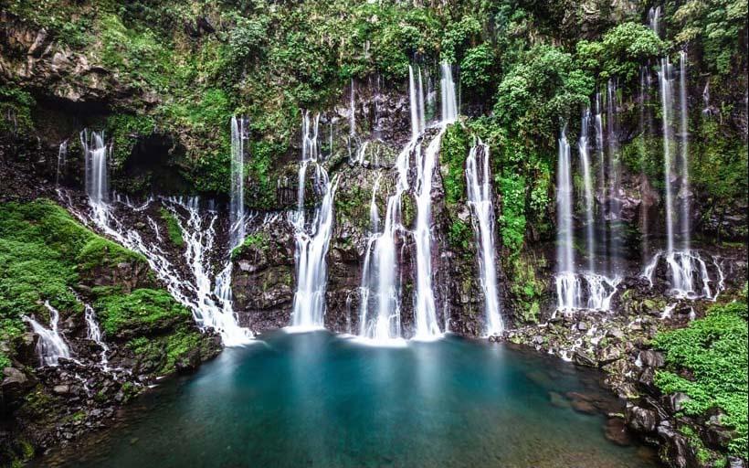Mãn nhãn với 25 mẫu tranh phong cảnh thác nước 3d đẹp nhất thế giới: mã in TH_07160