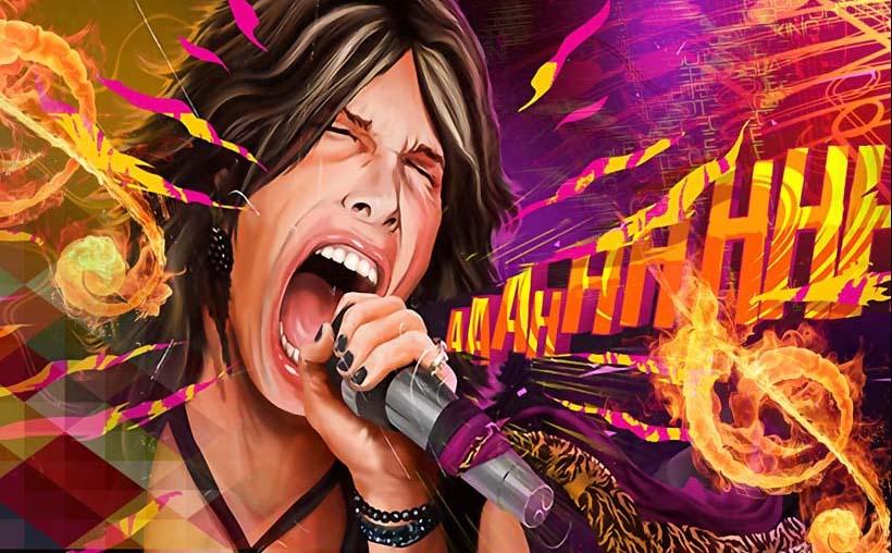 TH_07227 - Mẫu tranh 3d dán tường quán karaoke đẹp, độc, lạ và táo bạo nhất hiện nay