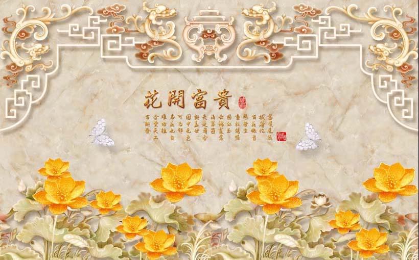 TH_11379 - Những mẫu tranh 3d, tranh phong cảnh, tranh phong thủy hợp với người mệnh Kim