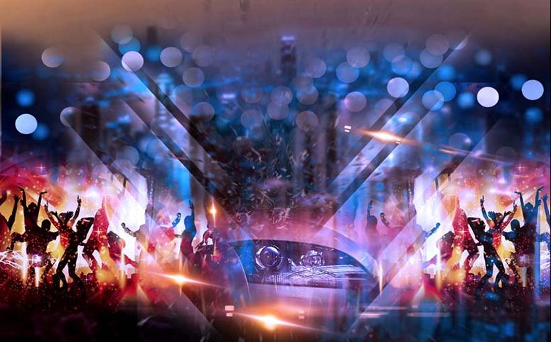 TH_25701 - Mẫu tranh 3d dán tường quán karaoke đẹp, độc, lạ và táo bạo nhất hiện nay
