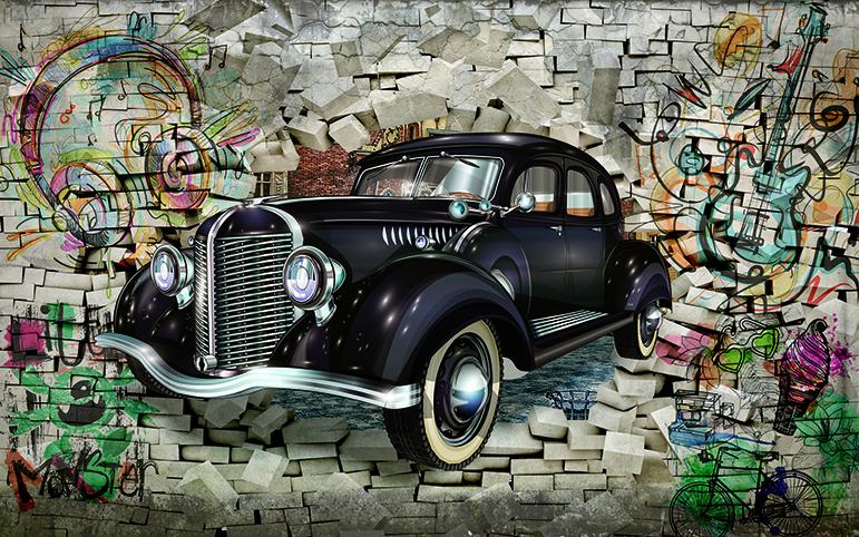 TH_O_00309-copy - Tranh dán tường 3d - cách trang trí quán trà sữa, quán cà phê ấn tượng nhất