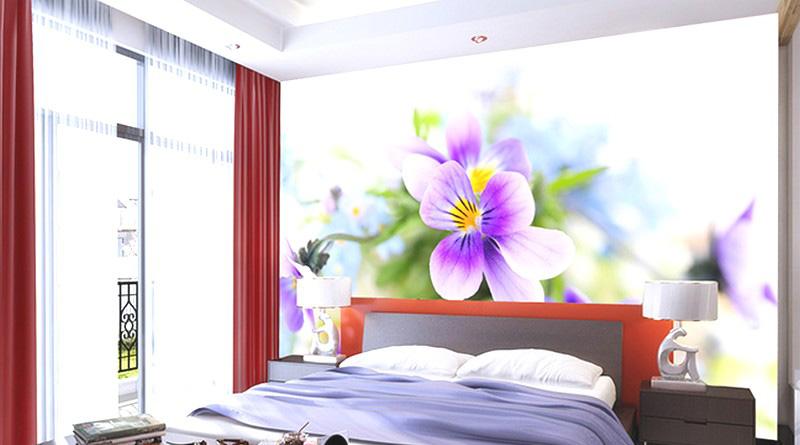 Tranh dán tường 3d phòng ngủ đẹp nhất
