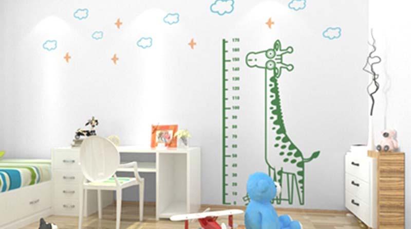 Tranh dán tường 3d hoạt hình dán phòng bé yêu - món quà Trung Thu ý nghĩa nhất