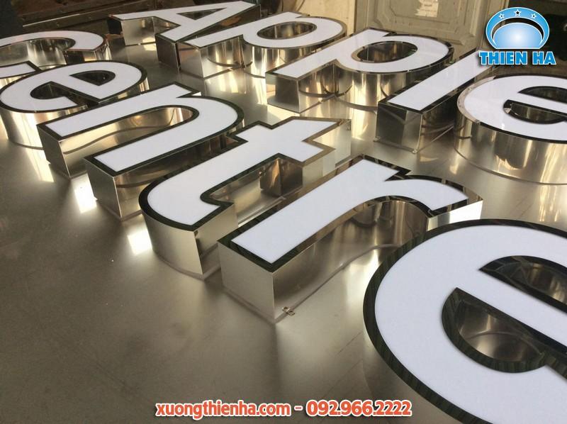 Xưởng cắt chữ inox, cắt tôn Hà Nội giá rẻ, thi công nhanh nhất
